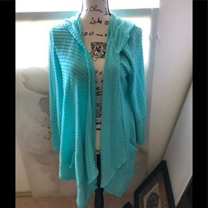 Women's Style & Co.  tunic Hooded Soft. Sz XL
